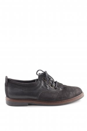 Bama Lace Shoes black-brown casual look