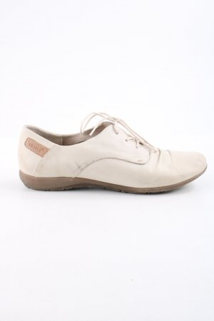 Bama Lace Shoes natural white casual look