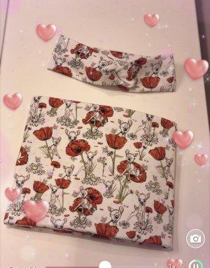 Disney Écharpe d'été rose chair-rouge foncé