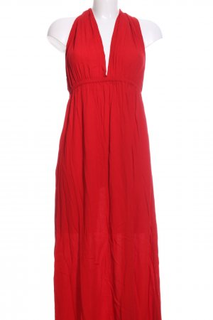 bamboo blonde Maxikleid rot Casual-Look