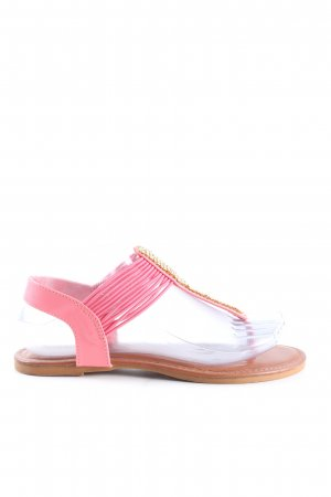 Bamboo Dianette Sandals pink casual look