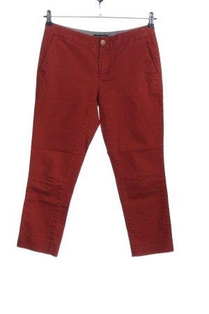 Banana Republic Pantalone a 7/8 rosso stile professionale