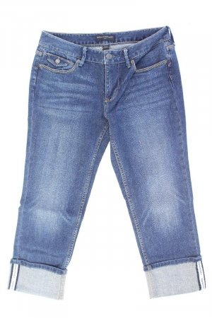Banana Republic 7/8 Length Jeans blue-neon blue-dark blue-azure cotton