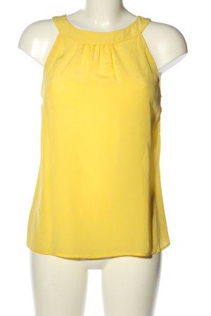 Banana Republic ärmellose Bluse blassgelb Casual-Look