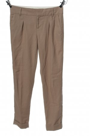 Banana Republic Bundfaltenhose braun Casual-Look