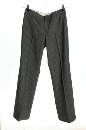 Banana Republic Bundfaltenhose hellgrau Streifenmuster Business-Look