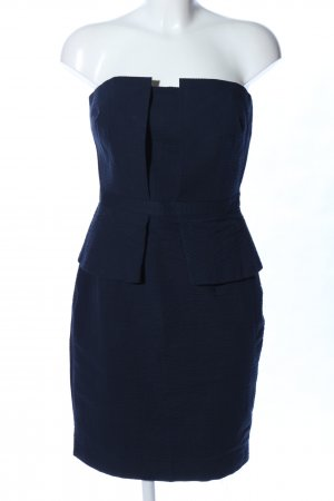 Banana Republic Bustier Dress blue elegant