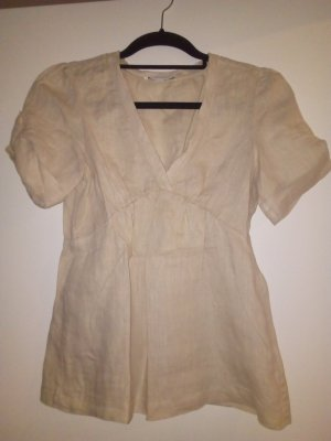 Banana Republic Linen Blouse cream