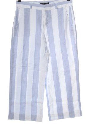 Banana Republic Culotte bleu-blanc motif rayé style décontracté