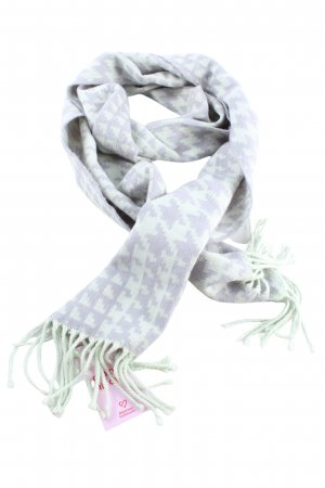 Banana Republic Fringed Scarf lilac-white casual look