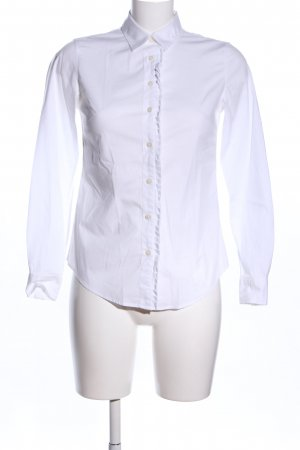 Banana Republic Blusa-camisa blanco estilo «business»