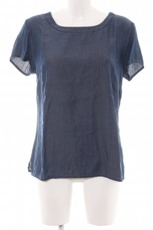 Banana Republic Heritage  Blusa denim blu stile casual