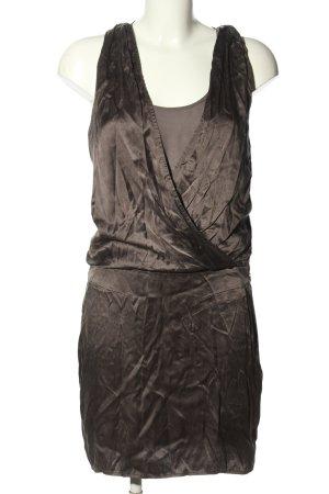 Banana Republic Heritage  Sukienka z dekoltem typu halter brązowy Elegancki