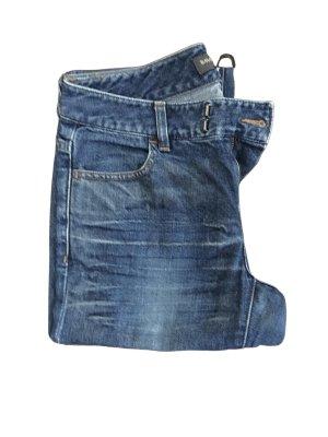 Banana Republic Jeansy o kroju boot cut niebieski