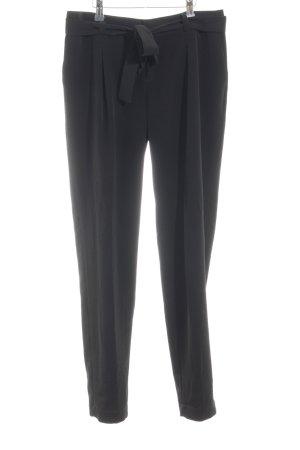 Banana Republic Pantalón de pinza alto negro elegante