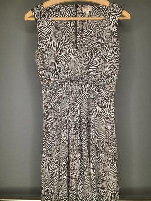 Banana Republic Kleid in Zebra Optik