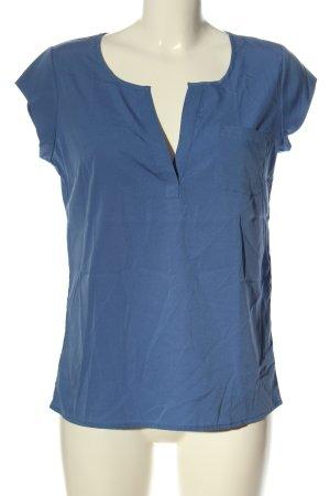 Banana Republic Kurzarm-Bluse blau Casual-Look