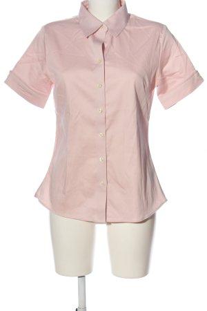 Banana Republic Camicia a maniche corte rosa stile professionale