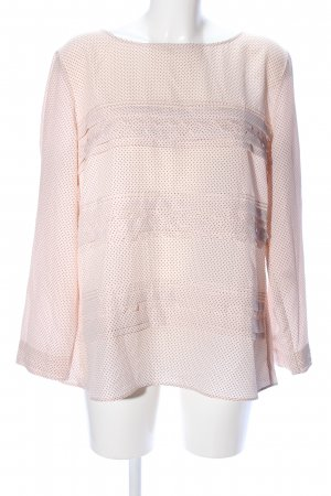 Banana Republic Langarm-Bluse nude Punktemuster Business-Look