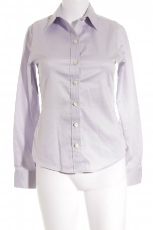 Banana Republic Langarm-Bluse helllila Business-Look