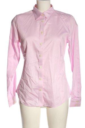 Banana Republic Shirt met lange mouwen roze zakelijke stijl