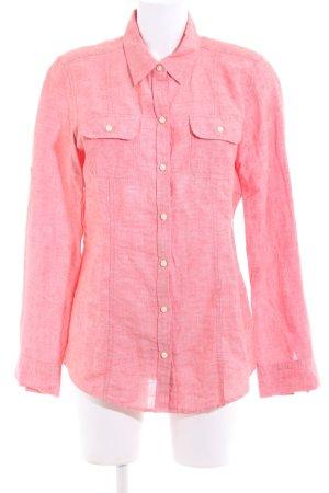 Banana Republic Shirt met lange mouwen roze gestippeld casual uitstraling