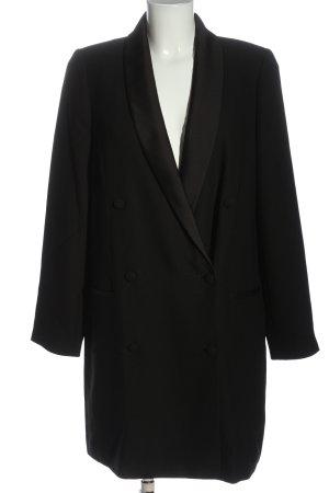 Banana Republic Lange blazer zwart zakelijke stijl