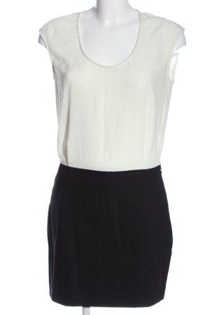 Banana Republic Minikleid weiß-schwarz Casual-Look