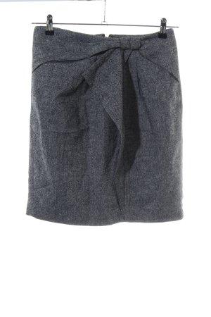 Banana Republic Mini-jupe gris clair moucheté style d'affaires