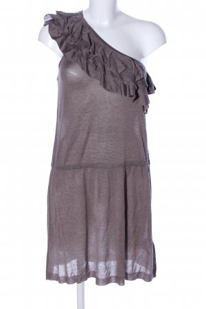 Banana Republic One Shoulder Dress brown casual look
