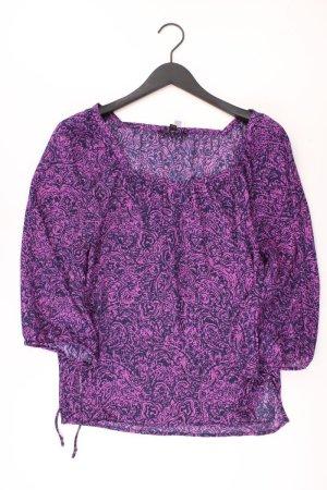 Banana Republic Oversize-Bluse Größe S 3/4 Ärmel lila aus Polyester