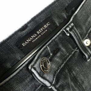 Banana Republic Skinny jeans zwart-grijs
