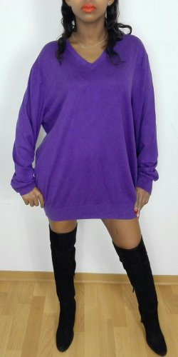 Banana Republic Long Sweater lilac mixture fibre