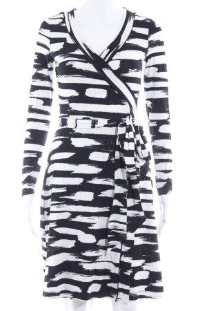 Banana Republic Shirtjacke schwarz-weiß Streifenmuster Casual-Look