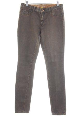 Banana Republic Skinny Jeans braun Used-Optik