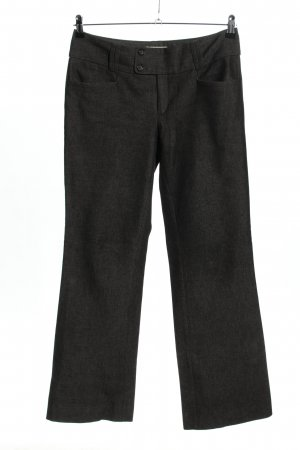 Banana Republic Stoffhose schwarz meliert Business-Look