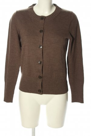 Banana Republic Strick Cardigan braun meliert Casual-Look
