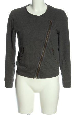 Banana Republic Veste en tricot gris clair style décontracté