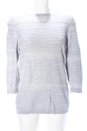 Banana Republic Pull tricoté gris clair style décontracté