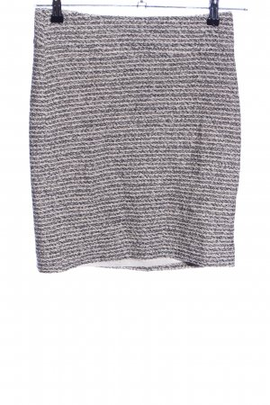 Banana Republic Knitted Skirt natural white-black flecked casual look