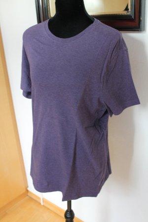 Banana Republic T-shirt violet foncé coton