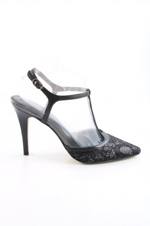 Banana Republic T-Strap Pumps black-light grey