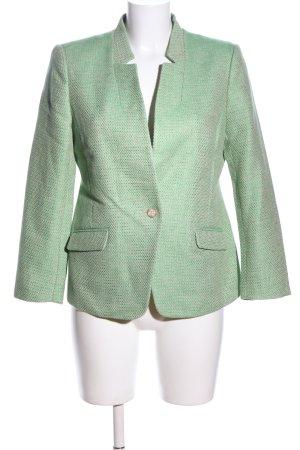 Banana Republic Woll-Blazer grün meliert Casual-Look
