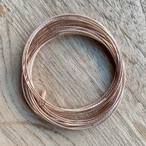 Band-Armband roségolfarben