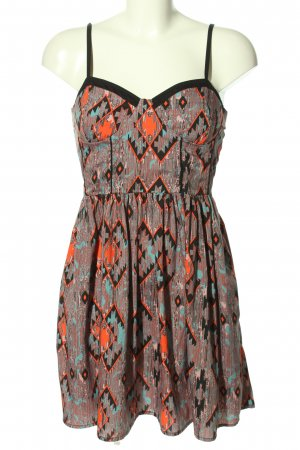 Band of Gypsies Mini-jurk volledige print casual uitstraling