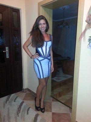 Bandagen Kleid in S