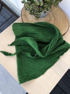 Ohne Neckerchief forest green cotton