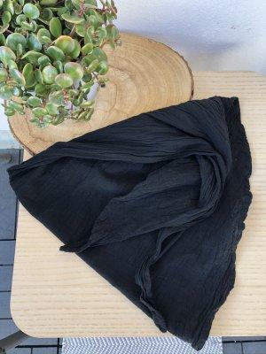 Bandana Halstuch Tuch schwarz Baumwolle 145x45 cm
