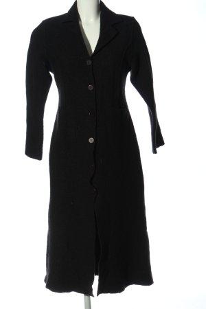 BANDANAS Wool Coat black casual look