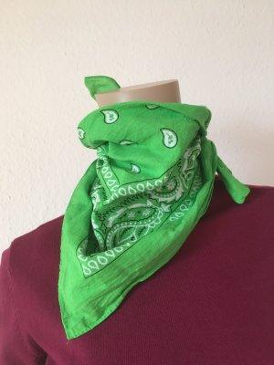 Bijou Brigitte Foulard vert fluo